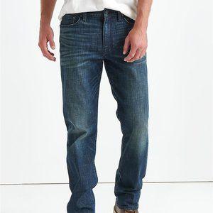 Lucky Brand Mens 40 X 30 363 Vintage Straight Jean
